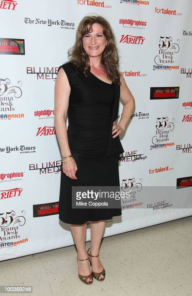 Actress Ana Gasteyer attends the 55th Annual Drama Desk Awards at the FH LaGuardia Concert Hall at Lincoln Center on May 23 2010 in New York City