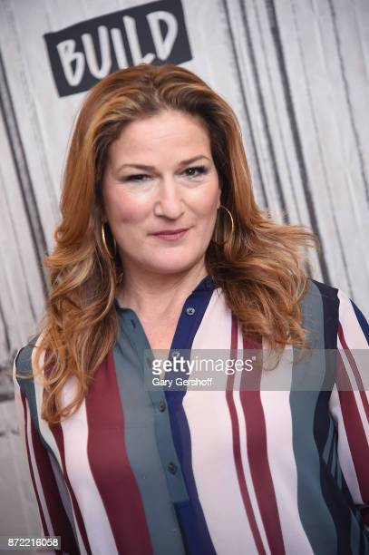 Actress Ana Gasteyer visits Build Series to discuss her role in the series 'Lady Dynamite' at Build Studio on November 9 2017 in New York City