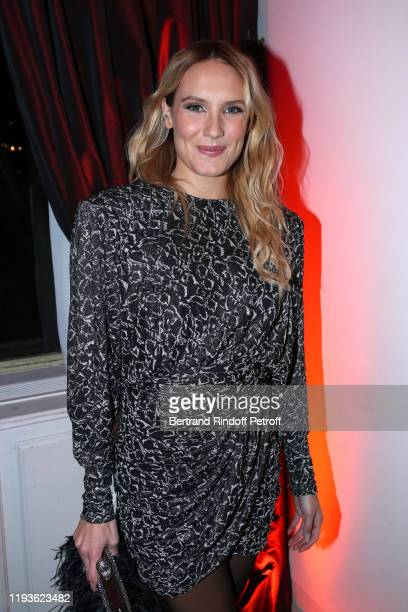Actress Ana Girardot attends the Annual Charity Dinner hosted by the AEM Association Children of the World for Rwanda AIn on December 12 2019 in...