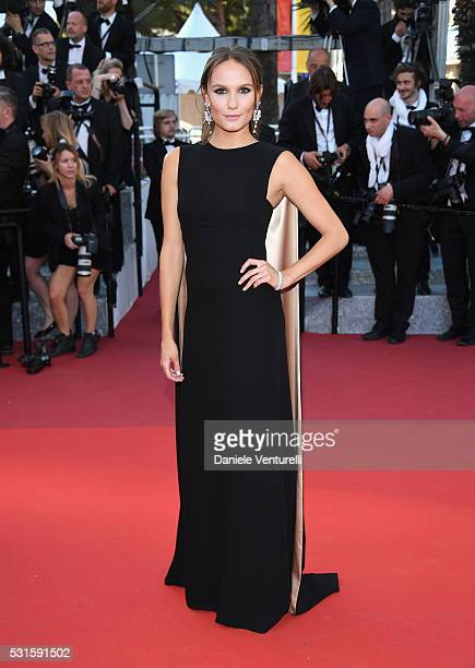 Actress Ana Girardot attends the 'From The Land Of The Moon ' premiere during the 69th annual Cannes Film Festival at the Palais des Festivals on May...