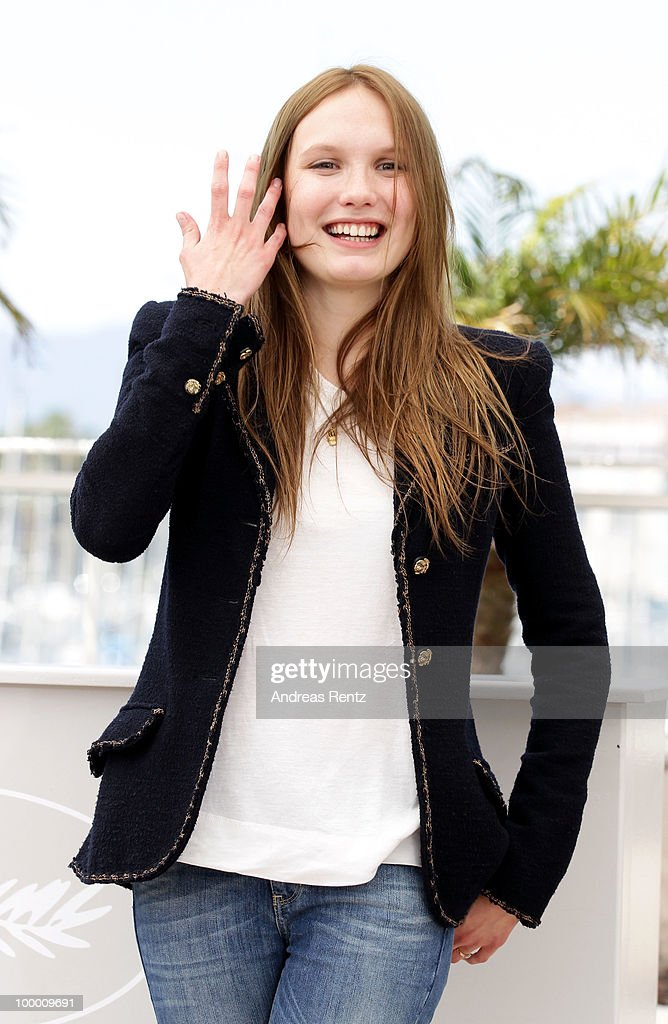 Actress Ana Girardot attends the 'Lights Out' Photocall at the Palais des Festivals during the 63rd Annual Cannes Film Festival on May 20, 2010 in Cannes, France.