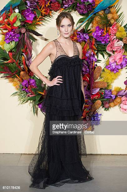 Actress Ana Girardot attends the Opening Season Gala at Opera Garnier on September 24 2016 in Paris France
