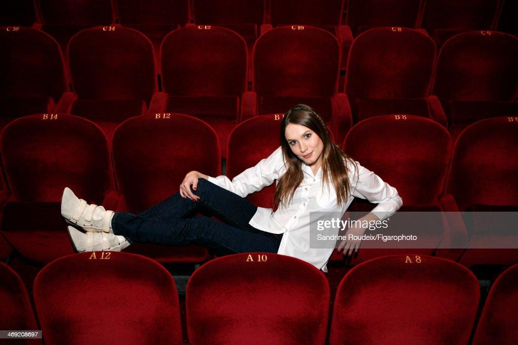 Ana Girardot, Madame Figaro, February 7, 2014