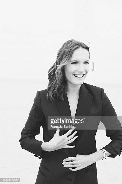 Actress Ana Girardot is photographed for Self Assignment on September 5 2016 in Deauville France