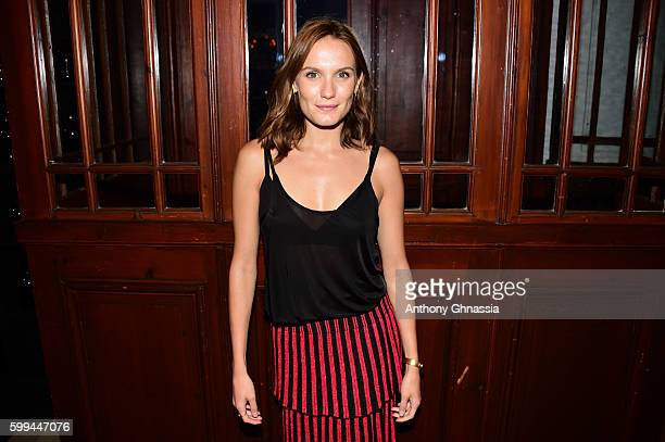 Actress Ana Girardot is photographed for Self Assignment on September 4 2016 in Deauville France