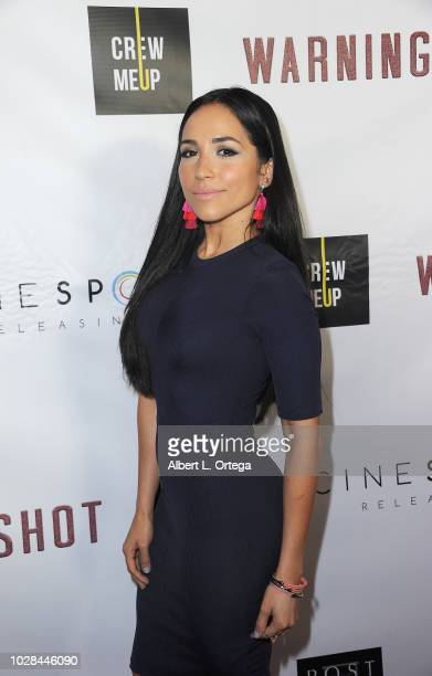 Actress Ana Isabelle arrives for the Premiere Of Cinespots' 'Warning Shot' held at The WGA Theater on September 6 2018 in Beverly Hills California
