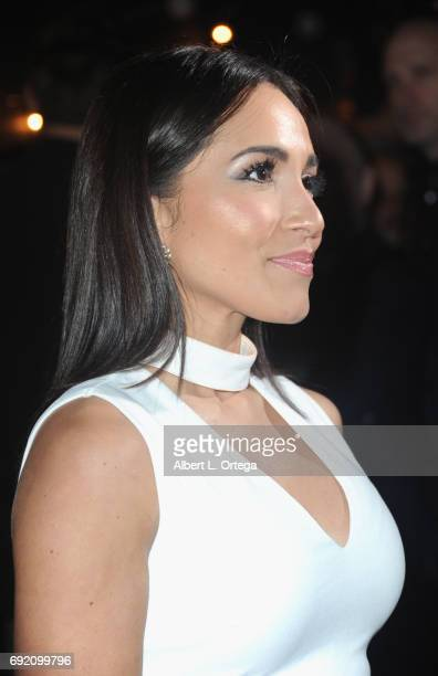 Actress Ana Isabelle arrives for the Premiere Of Parade Deck Films' 'The Eyes' held at Arena Cinelounge on April 7 2017 in Hollywood California