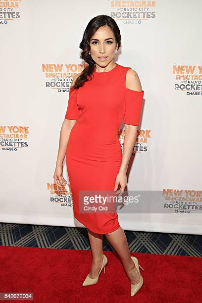 Actress Ana Isabelle attends the 'New York Spectacular' Opening Night at Radio City Music Hall on June 23 2016 in New York City