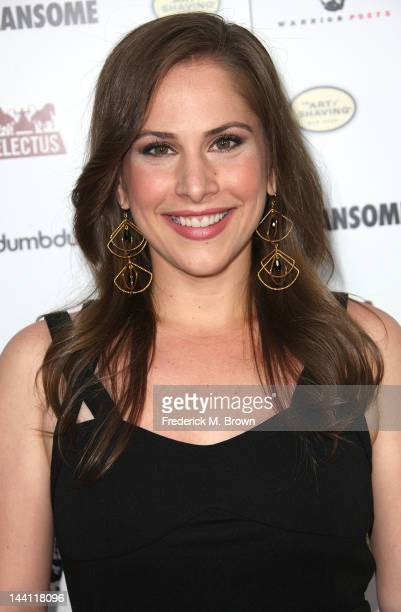 Actress Ana Kasparian attends the premiere of Morgan Spurlock's Mansome at the ArcLight Cinemas on May 9 2012 in Hollywood California