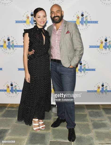 Actress Ana Khar and Fox Head of Drama Terence Carter attend 'I Have A Dream' Foundation Los Angeles Annual Dreamer Dinner at Skirball Cultural...