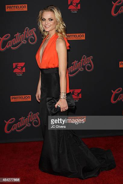 Actress Ana Layevska attends 'Cantinflas' Los Angeles Premiere at TCL Chinese Theatre on August 27 2014 in Hollywood California