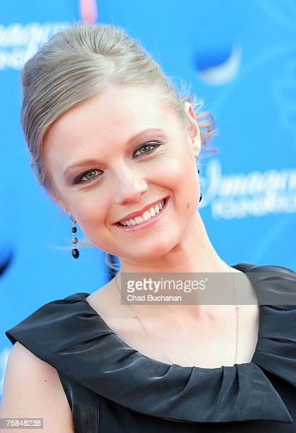 Actress Ana Layevska attends the 22nd Annual Imagen Awards at the Walt Disney Concert Hall on July 28 2007 in Los Angeles California
