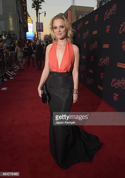 Actress Ana Layevska attends the premiere of Pantelion Film's Cantinflas at TCL Chinese Theatre on August 27 2014 in Hollywood California