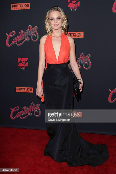 Actress Ana Layevska attends the premiere of Pantelion Films' 'Cantinflas' at the TCL Chinese Theatre on August 27 2014 in Hollywood California