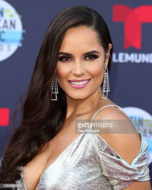 Actress Ana Lucia Dominguez attends the 2018 Latin American Music Awards at Dolby Theatre on October 25 2018 in Hollywood California