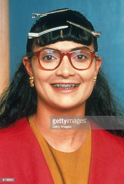 Actress Ana Maria Orozco poses for a portrait as her character Betty Pinzon in the Telemundo network comedy series Betty La Fea translated as Betty...