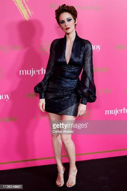Actress Ana Maria Polvorosa attends 'MujerHoy' awards 2019 at Casino de Madrid on January 30 2019 in Madrid Spain