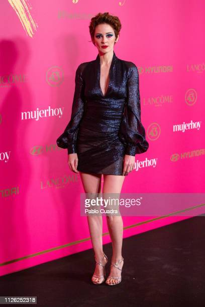 Actress Ana Maria Polvorosa attends the 10th 'MujerHoy' awards at 'Casino de Madrid' on January 30 2019 in Madrid Spain