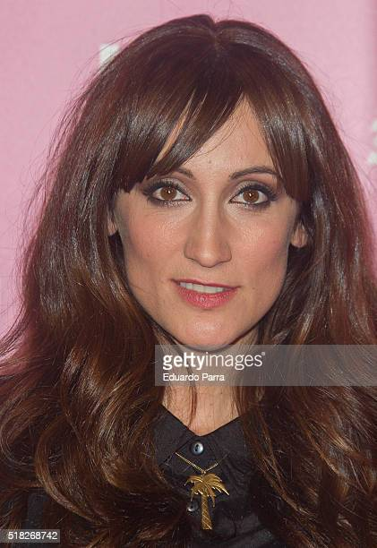Actress Ana Morgade attends 'Kiki el amor se hace' premiere at Capitol cinema on March 30 2016 in Madrid Spain