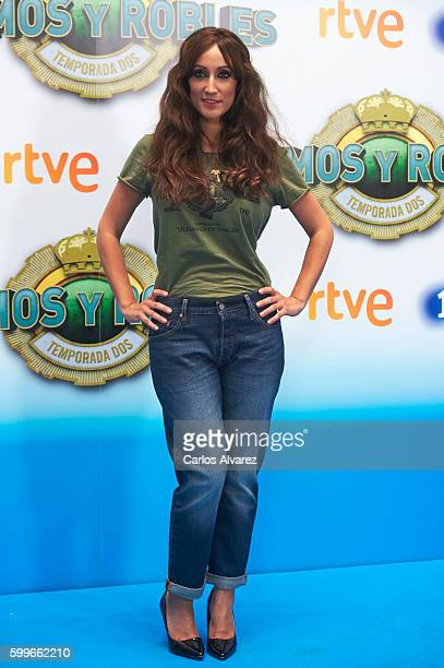 Actress Ana Morgade attends Olmos y Robles photocall during FesTVal 2016 Day 2 Televison Festival on September 6 2016 in VitoriaGasteiz Spain