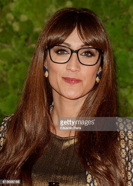 Actress Ana Morgade attends the 'Mercado de Sabores' 3rd edition photocall at Madrid Cityhall on October 19 2016 in Madrid Spain