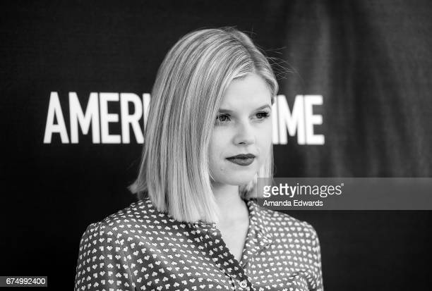 Actress Ana Mulvoy Ten arrives at the FYC Event for ABC's American Crime at the Saban Media Center on April 29 2017 in North Hollywood California