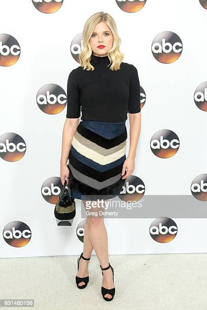 Actress Ana MulvoyTen arrives for the 2017 Winter TCA Tour for Disney/ABC at The Langham Hotel on January 10 2017 in Pasadena California