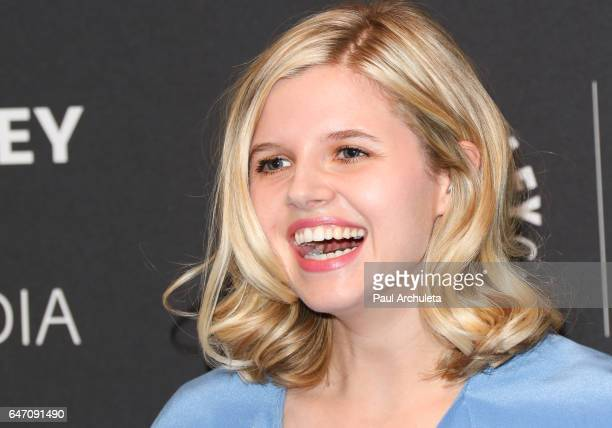 Actress Ana MulvoyTen attends the screening for ABC's American Crime season 3 at The Paley Center for Media on March 1 2017 in Beverly Hills...