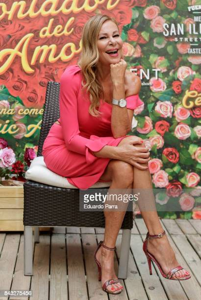 Actress Ana Obregon attends the 'El contador de amor' photocall at Hospes hotel on September 6 2017 in Madrid Spain