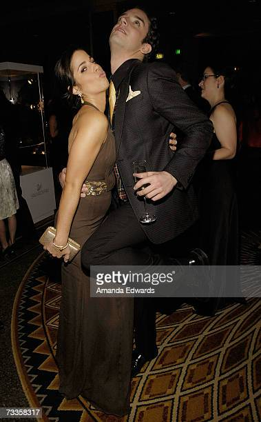 ACCESS* Actress Ana Ortiz and actor Michael Urie attends the 9th annual Costume Designers Guild Awards VIP reception held at the Beverly Wilshire...