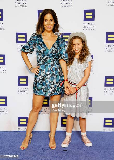 Actress Ana Ortiz and her daughter attend the 23rd Annual Human Rights Campaign National Dinner at the Washington Convention Center on September 28...