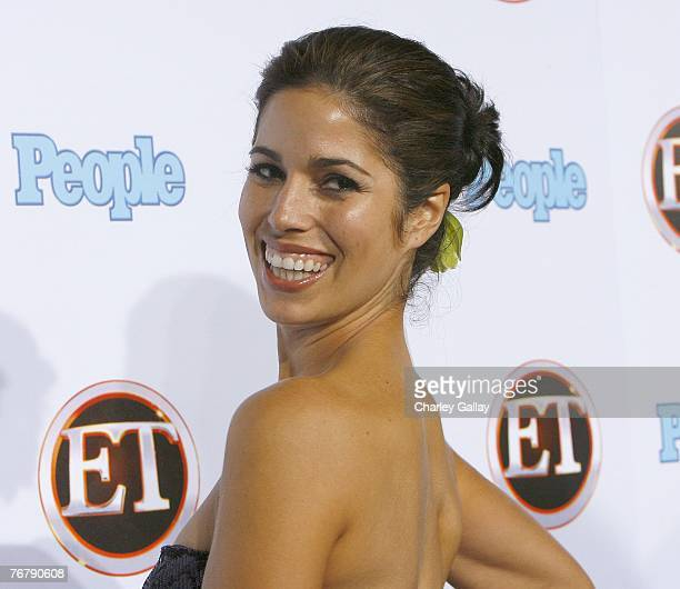 Actress Ana Ortiz arrives at the 11th Annual Entertainment Tonight Party Sponsored By People at Walt Disney Concert Hall on September 16 2007 in Los...