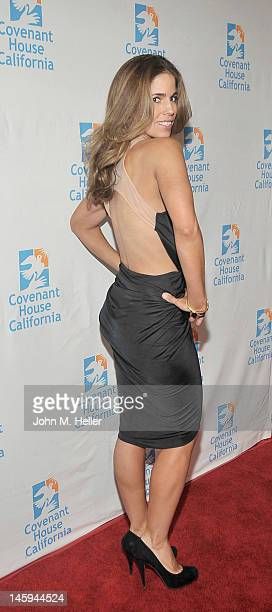 Actress Ana Ortiz arrives at the 2012 Covenant House Gala and Awards Dinner at the Skirball Cultural Center on June 7 2012 in Los Angeles California