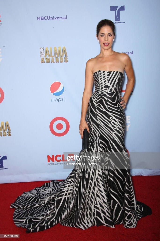 Actress Ana Ortiz arrives at the 2012 NCLR ALMA Awards at Pasadena Civic Auditorium on September 16, 2012 in Pasadena, California.