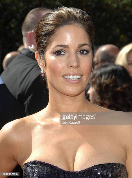 Actress Ana Ortiz arrives at the 59th Primetime EMMY Awards at the Shrine Auditorium on September 16 2007 in Los Angeles California