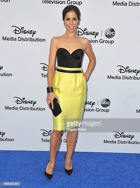 Actress Ana Ortiz arrives at the Disney Media Networks International Upfronts at Walt Disney Studios on May 19 2013 in Burbank California
