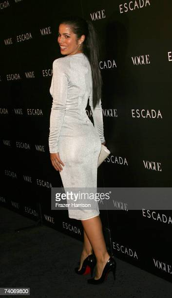 Actress Ana Ortiz arrives at the ESCADA Grand-Reopening event held at the ESCADA Beverly Wilshire on May 3, 2007 in Beverly Hills, California.
