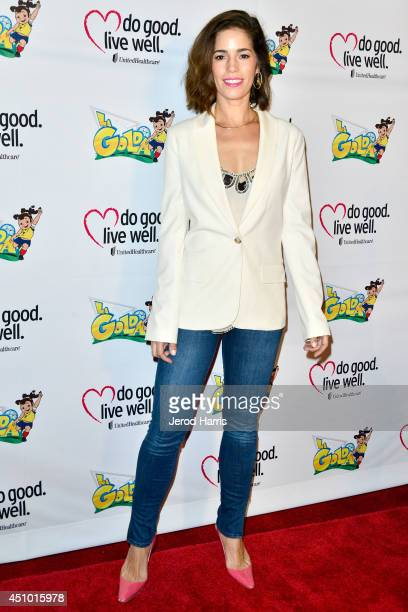 Actress Ana Ortiz arrives at the premiere of 'LA GOLDA' at The Crest on June 21 2014 in Los Angeles California