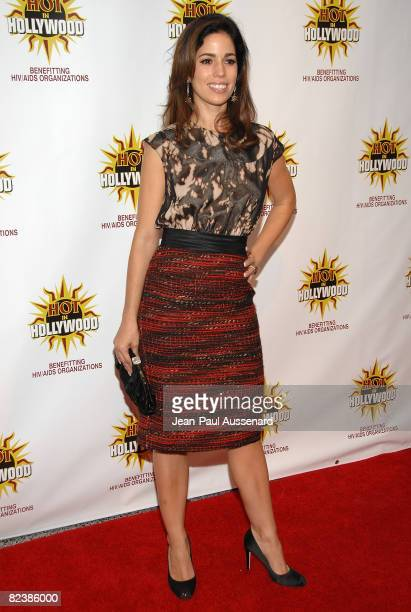 Actress Ana Ortiz arrives at the third annual Hot in Hollywood held at Avalon on August 16 2008 in Hollywood California