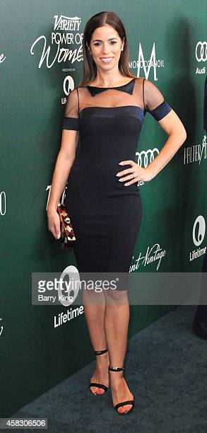Actress Ana Ortiz arrives at Variety's 2014 Power Of Women Event in LA Presented By LIfetime at the Beverly Wilshire Four Seasons Hotel on October 10...