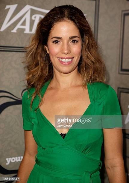 Actress Ana Ortiz arrives at Variety's 4th Annual Power of Women Event Presented by Lifetime at the Beverly Wilshire Four Seasons Hotel on October 5...