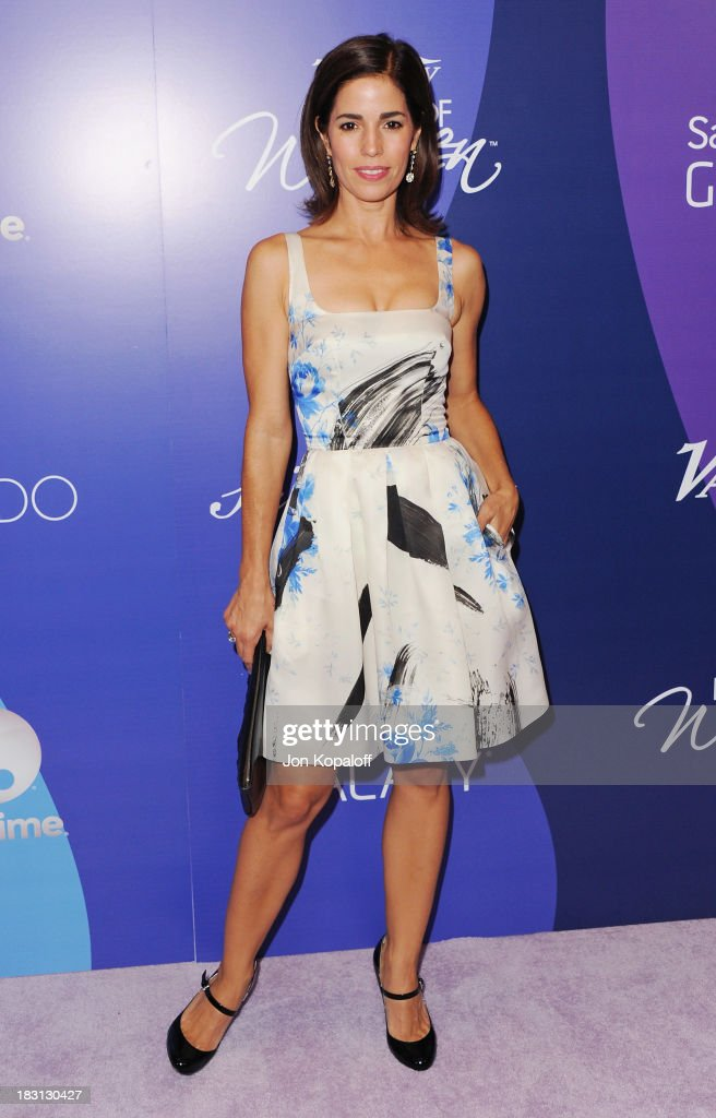 Actress Ana Ortiz arrives at Variety's 5th Annual Power Of Women Event at the Beverly Wilshire Four Seasons Hotel on October 4, 2013 in Beverly Hills, California.