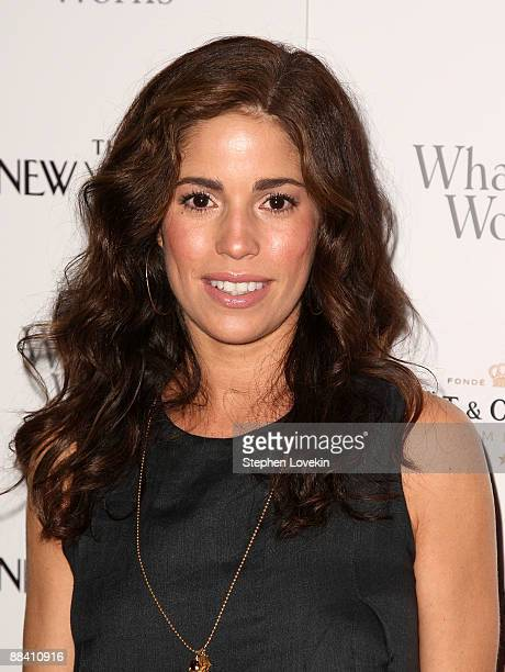 Actress Ana Ortiz attends a screening of Whatever Works hosted by the Cinema Society and The New Yorker at Regal Cinema Battery Park June 10 2009 in...