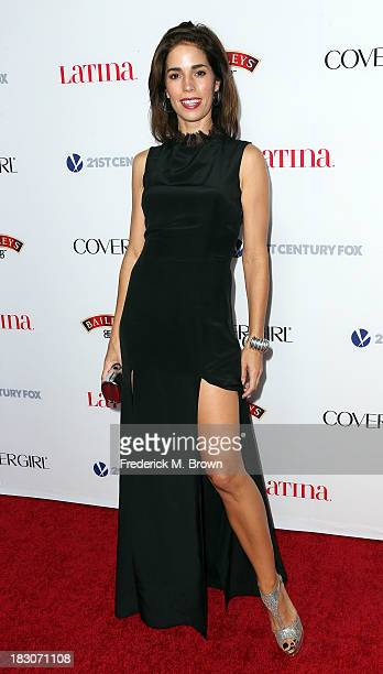 Actress Ana Ortiz attends Latina Magazine's 'Hollywood Hot List' Party at The Redbury Hotel on October 3 2013 in Hollywood California