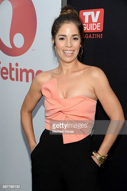 Actress Ana Ortiz attends Lifetime MeWe And TV Guide Celebrate The Devious Maids Season Four Premiere at STK Los Angeles on June 2 2016 in Los...