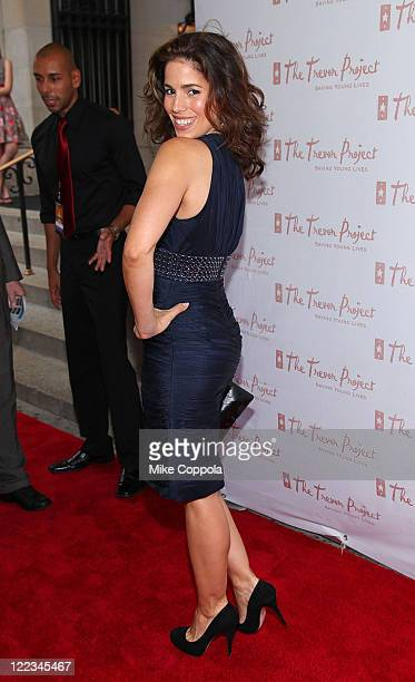 Actress Ana Ortiz attends the 10th Annual Trevor New York Summer Gala on June 28 2010 in New YorkCity