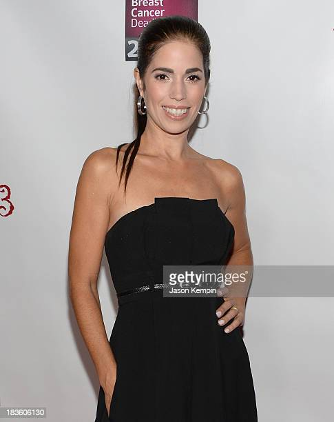 Actress Ana Ortiz attends the 13th Annual Les Girls benefit at Avalon on October 7 2013 in Hollywood California