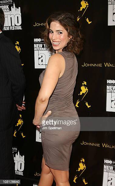 Actress Ana Ortiz attends the 2010 NYILFF Premiere of 'The Dry Land' at the School of Visual Arts Theater on July 27 2010 in New York City