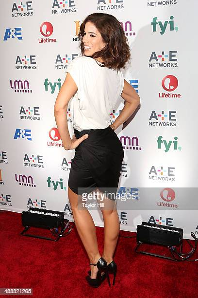 Actress Ana Ortiz attends the 2014 AE Network Upfronts at Park Avenue Armory on May 8 2014 in New York City