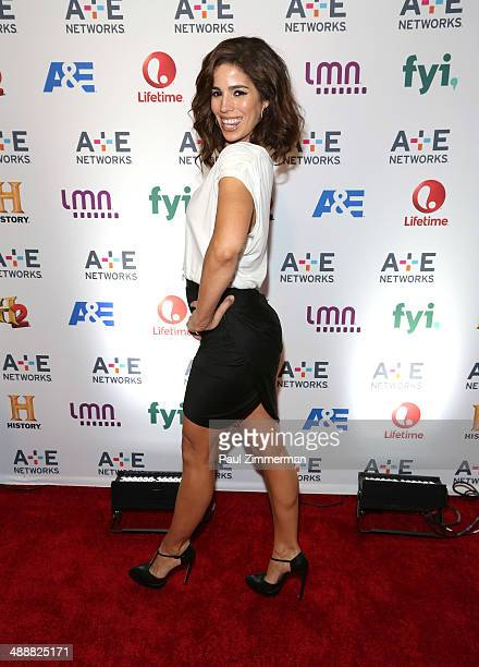 Actress Ana Ortiz attends the 2014 AE Networks Upfront at Park Avenue Armory on May 8 2014 in New York City